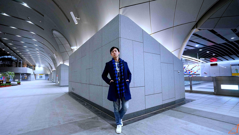 許政淳。A9, Azure Hsu in 大安森林公園站,攝影