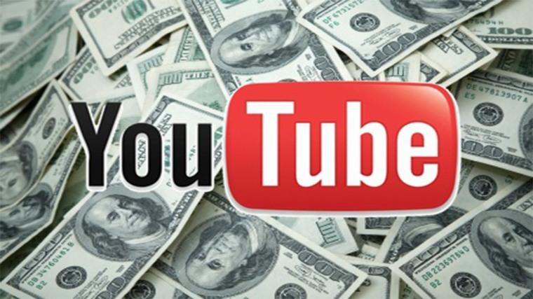 Youtuber 薪資獎金