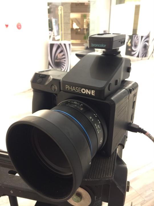 Phase one, 一億像素相機