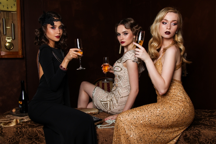 網紅、模特兒、品酒
