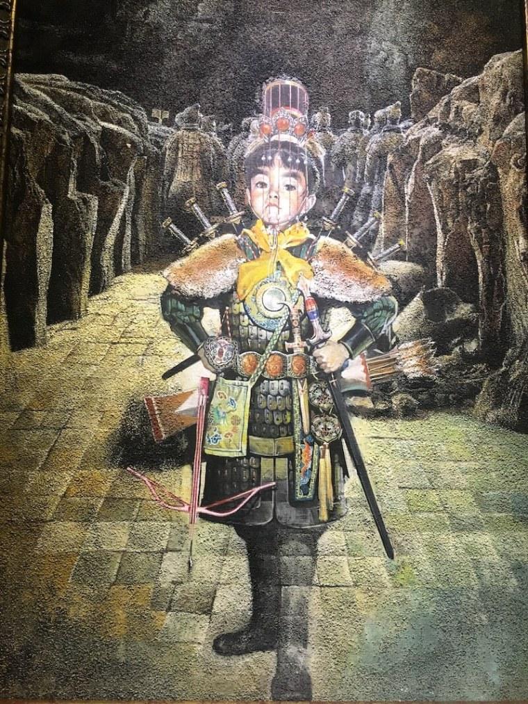 鄭問故宮大展必看-東周英雄傳-始皇童年
