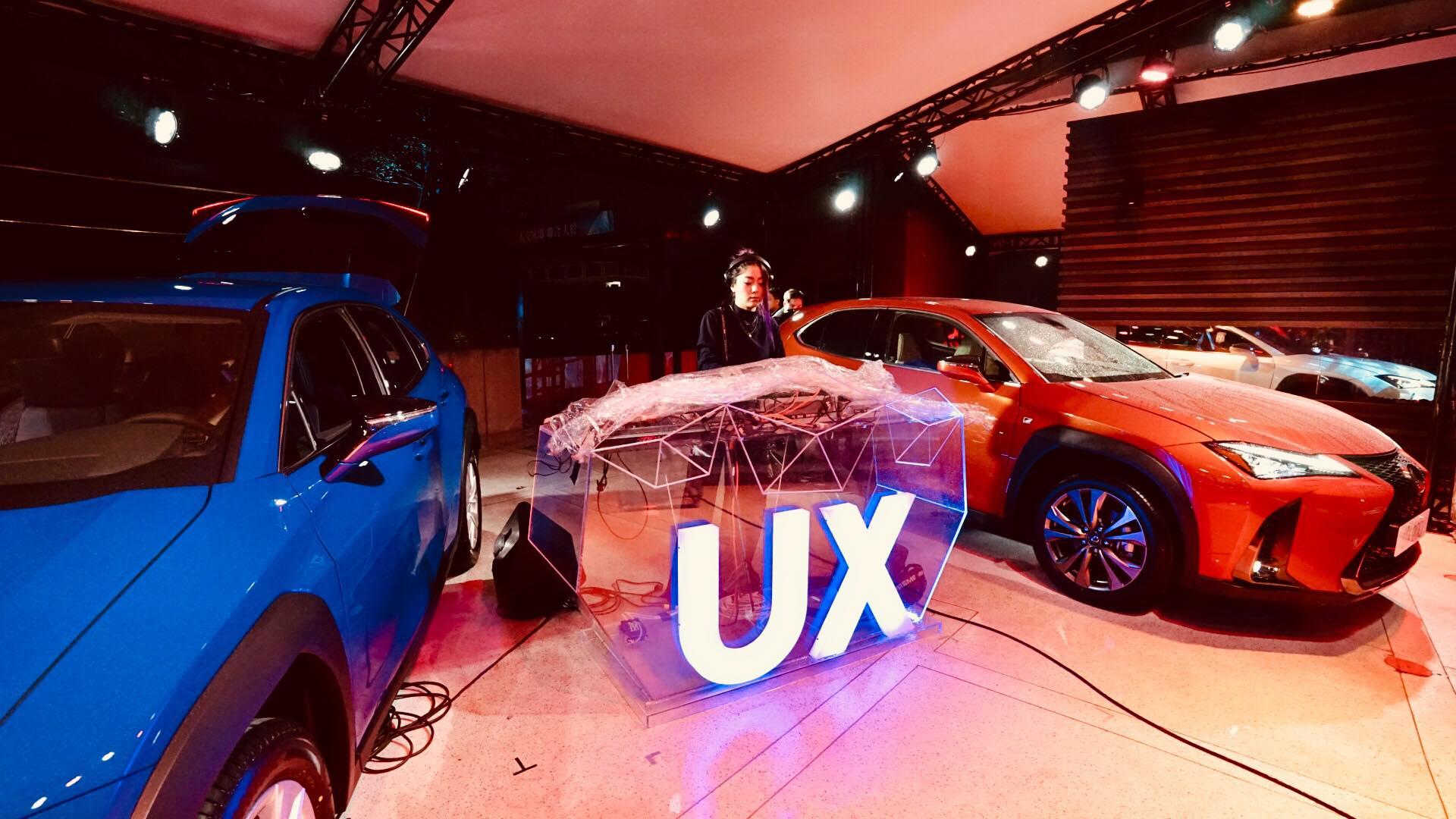 Lexus UX 200 F Sport 2018 空中派對