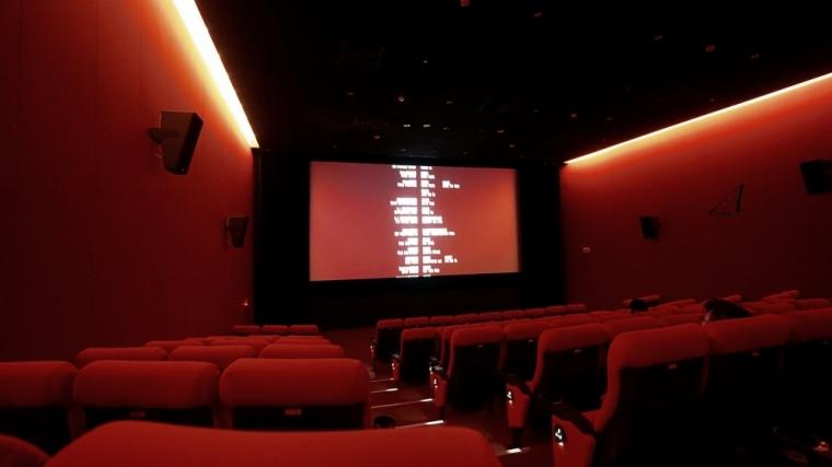 華山光點,電影院,紅盒子,電影散場