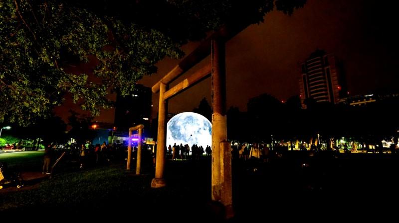 2018 白晝之夜,月霾Moon Haze,林森公園