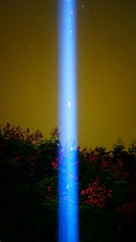 2018 白晝之夜,摩斯密碼Morse code,月霾Moon Haze,林森公園