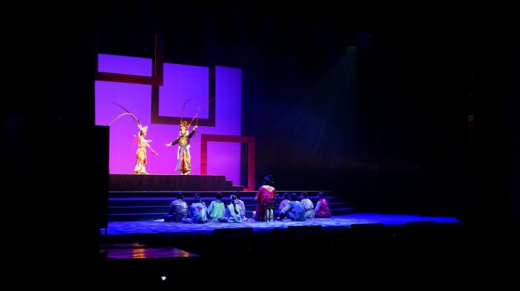 2018海峽兩岸民間藝術節,開幕表演,阿搭嫂,高甲戲,客家戲,歌仔戲