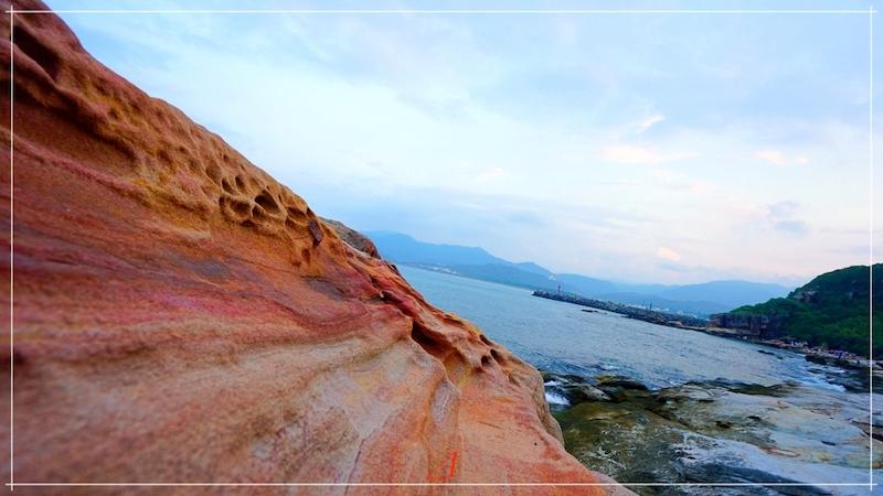 北海岸金山,水尾漁港神秘海岸,新北市景點