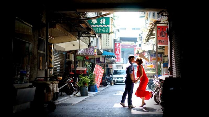 社子島婚紗 社子市場 婚紗攝影秘境