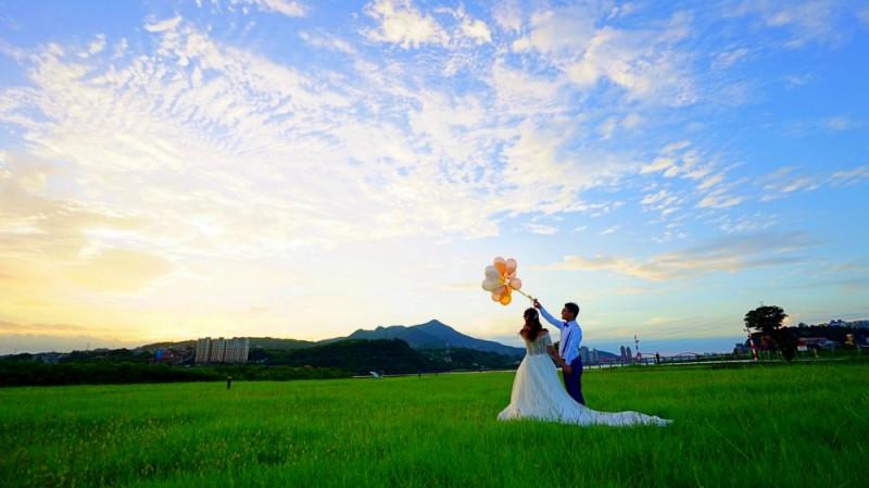 社子島頭公園,婚紗攝影秘境