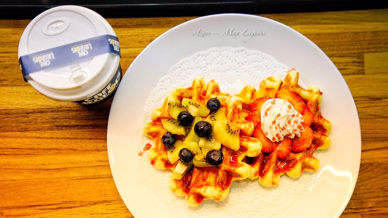 列日咖啡信義店@ATT 4 FUN,比利時列日鬆餅,水果鬆餅