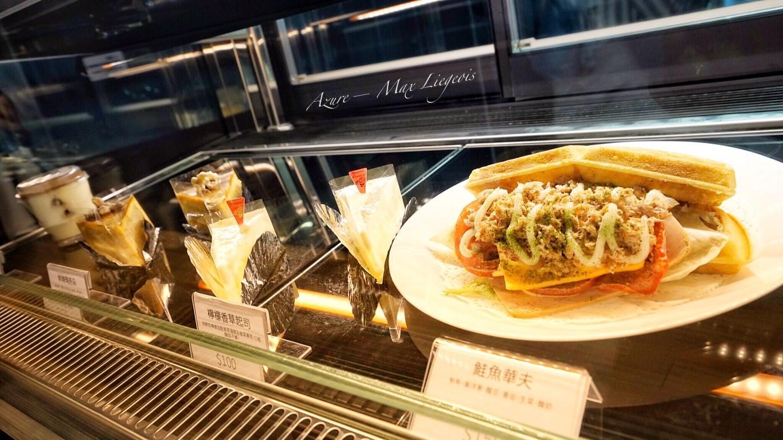 列日咖啡信義店@ATT 4 FUN,列日鬆餅、布魯塞爾鬆餅