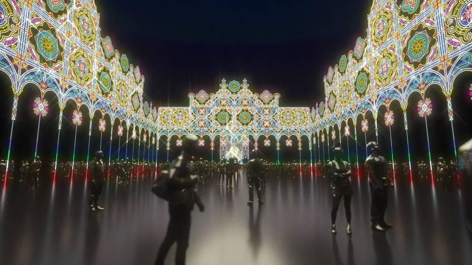 光之迴廊,光之饗宴,Luminarie in 台北2019