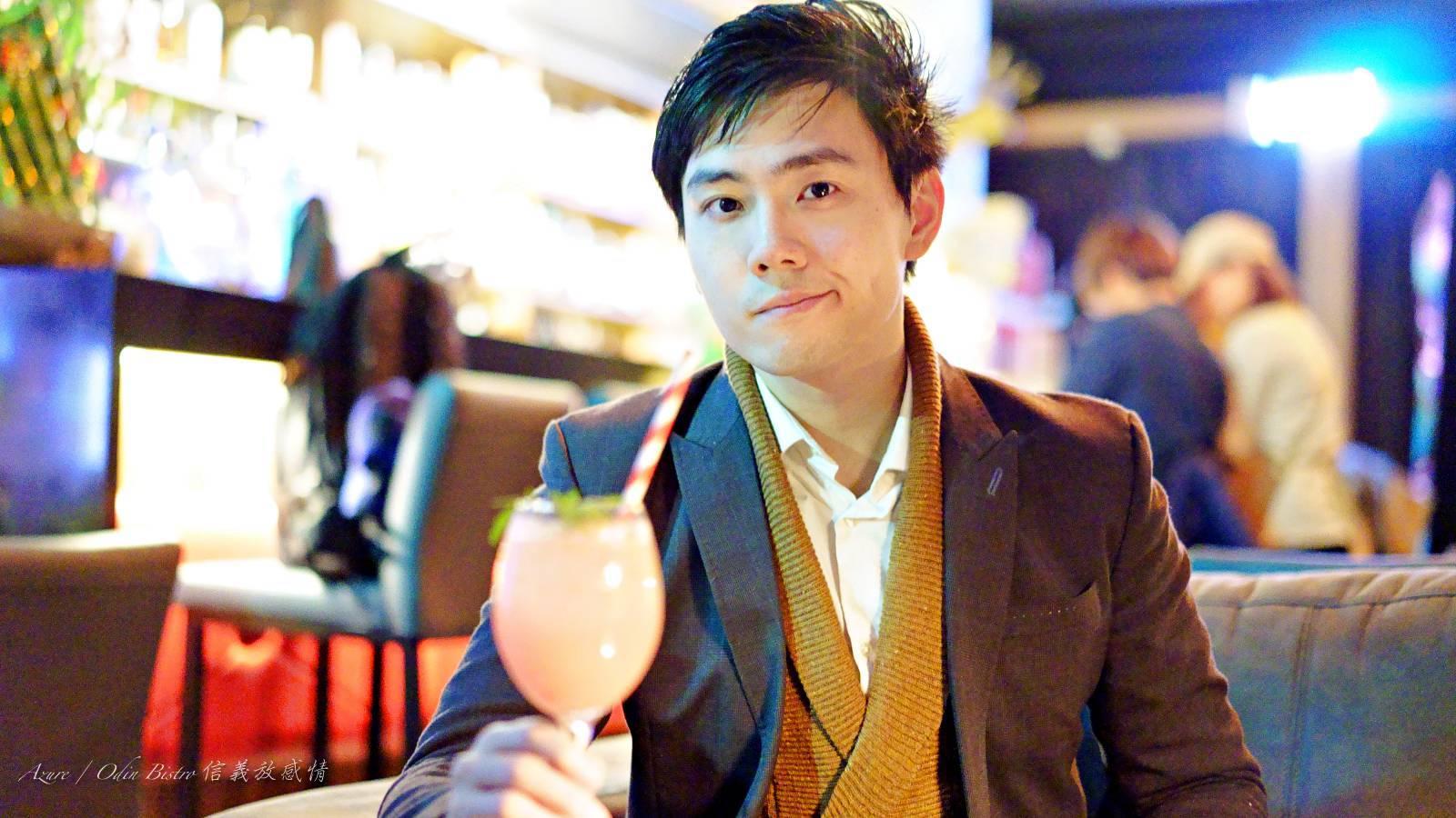 Azure 許政淳 信義放感情,信義區世貿101站餐酒館,創意調酒,真網美冰茶
