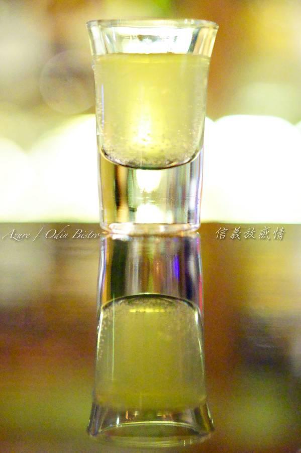 信義放感情,信義區世貿101站餐酒館,創意調酒,Bar tender特別招待shot