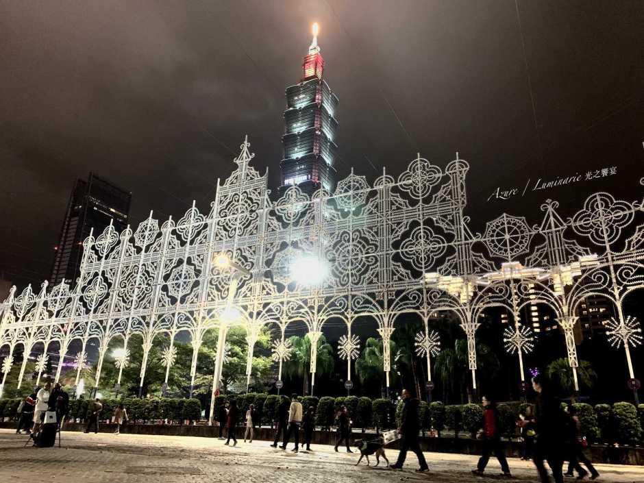 2019台北 光之饗宴 Luminarie 市民廣場 美景