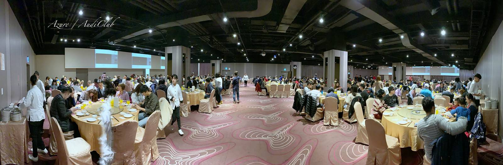 Audi-club全台奧迪車聚,超過兩百台奧迪齊聚苗栗尚順育樂中心