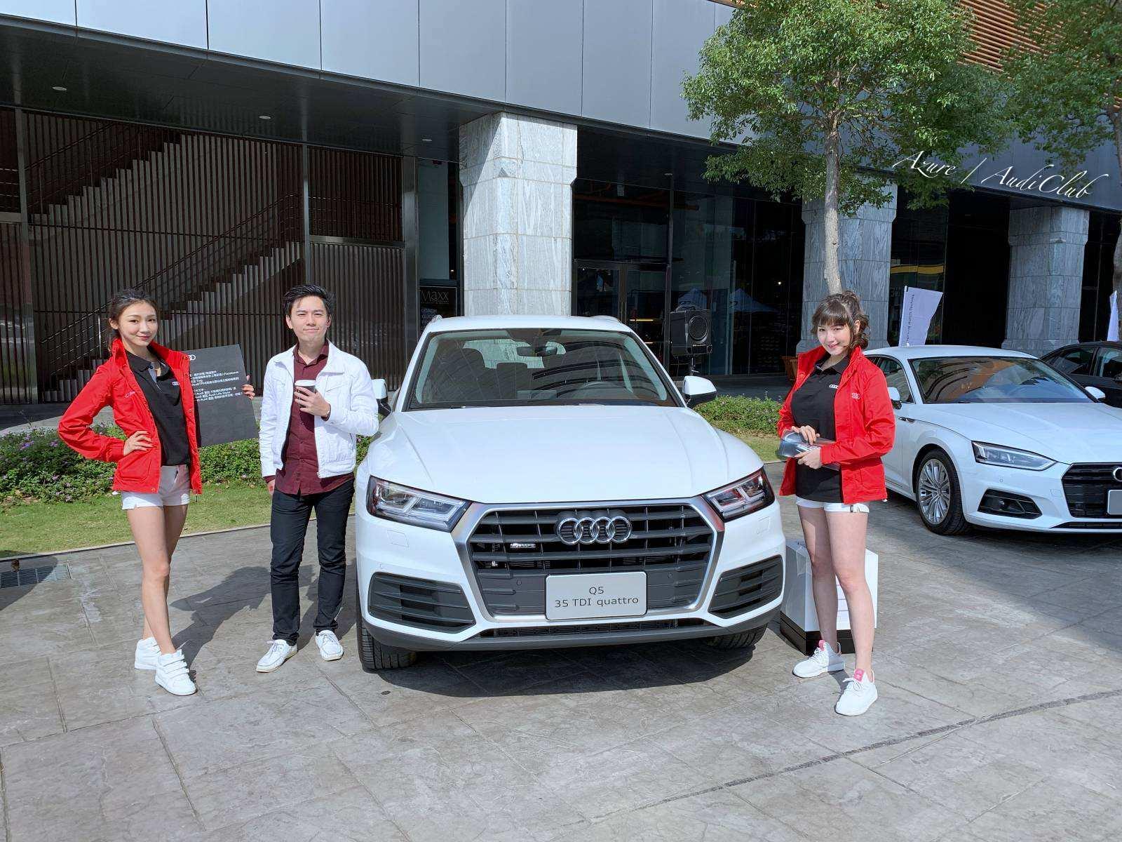 Audi-club全台奧迪車聚,超過兩百台奧迪齊聚苗栗尚順育樂中心 Azure 許政淳 with Show girl
