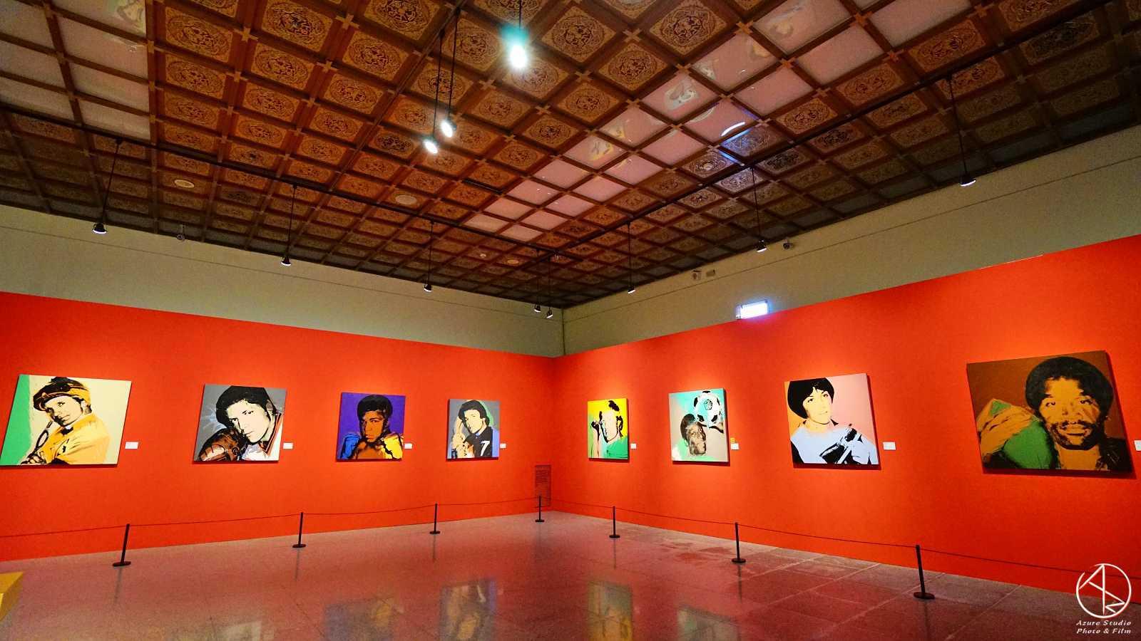 安迪沃荷普普狂想特展,看展心得,必看重點,人物肖像區