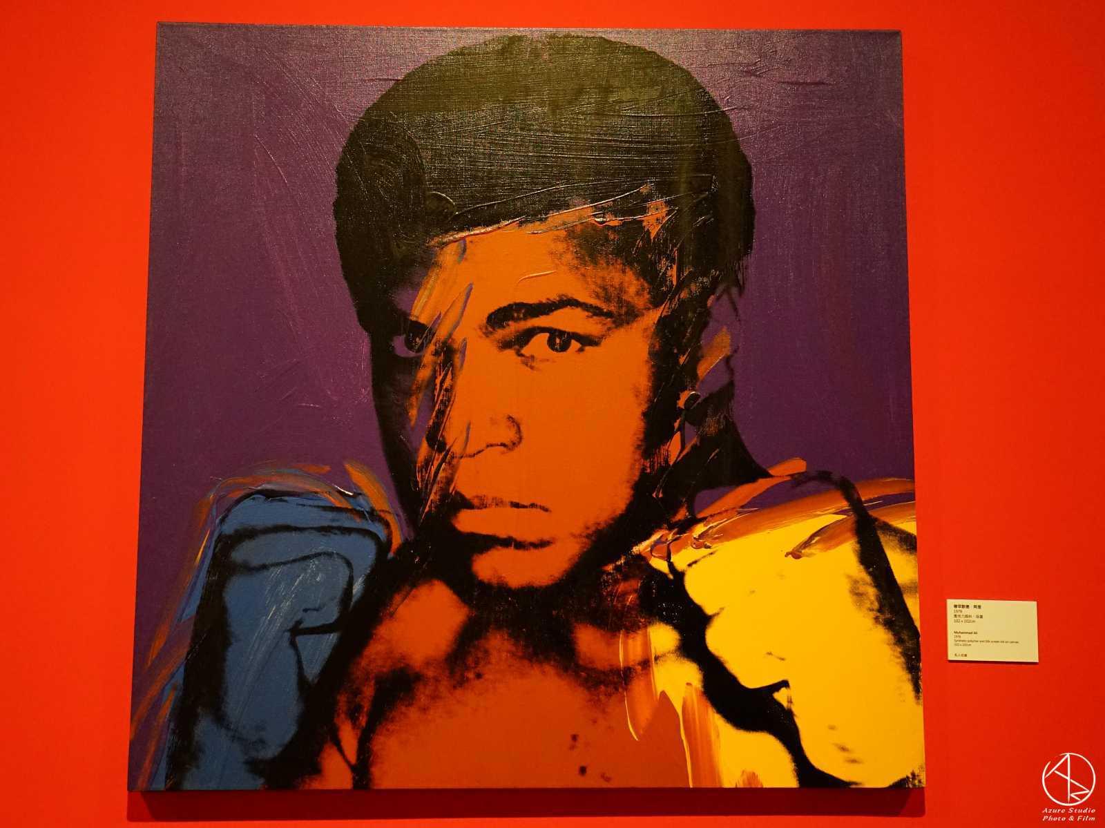 安迪沃荷普普狂想特展,看展心得,必看重點,人物肖像區,阿里肖像