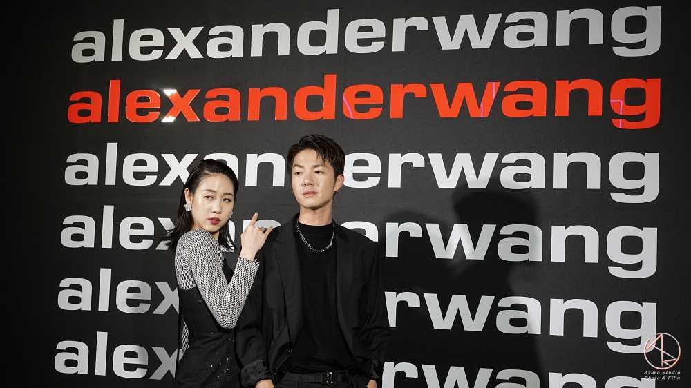時尚紅人 at alexanderwang品牌發表會2019微風南山