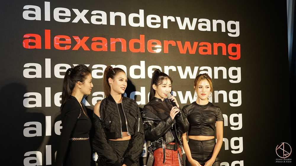 微風女孩 at alexanderwang品牌發表會2019微風南山