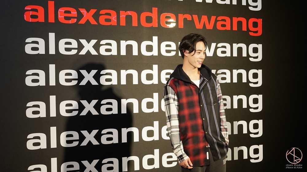 型男DJ MAI at alexanderwang品牌發表會2019微風南山