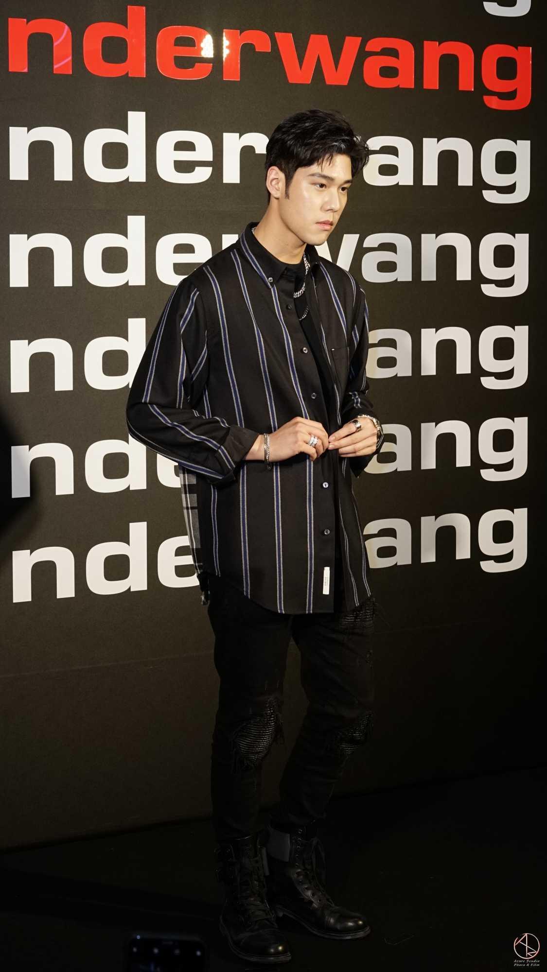 唱作歌手周予天alexanderwang王大仁,品牌發表會2019微風南山