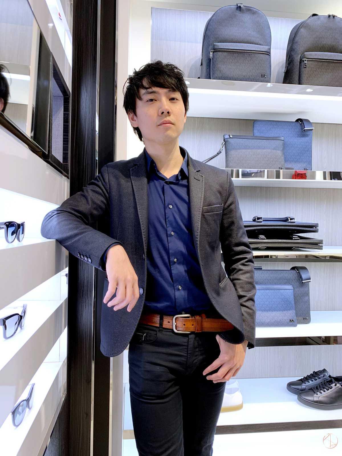 Michael Kors 2019春季新品鑑賞會 Azure男裝穿搭