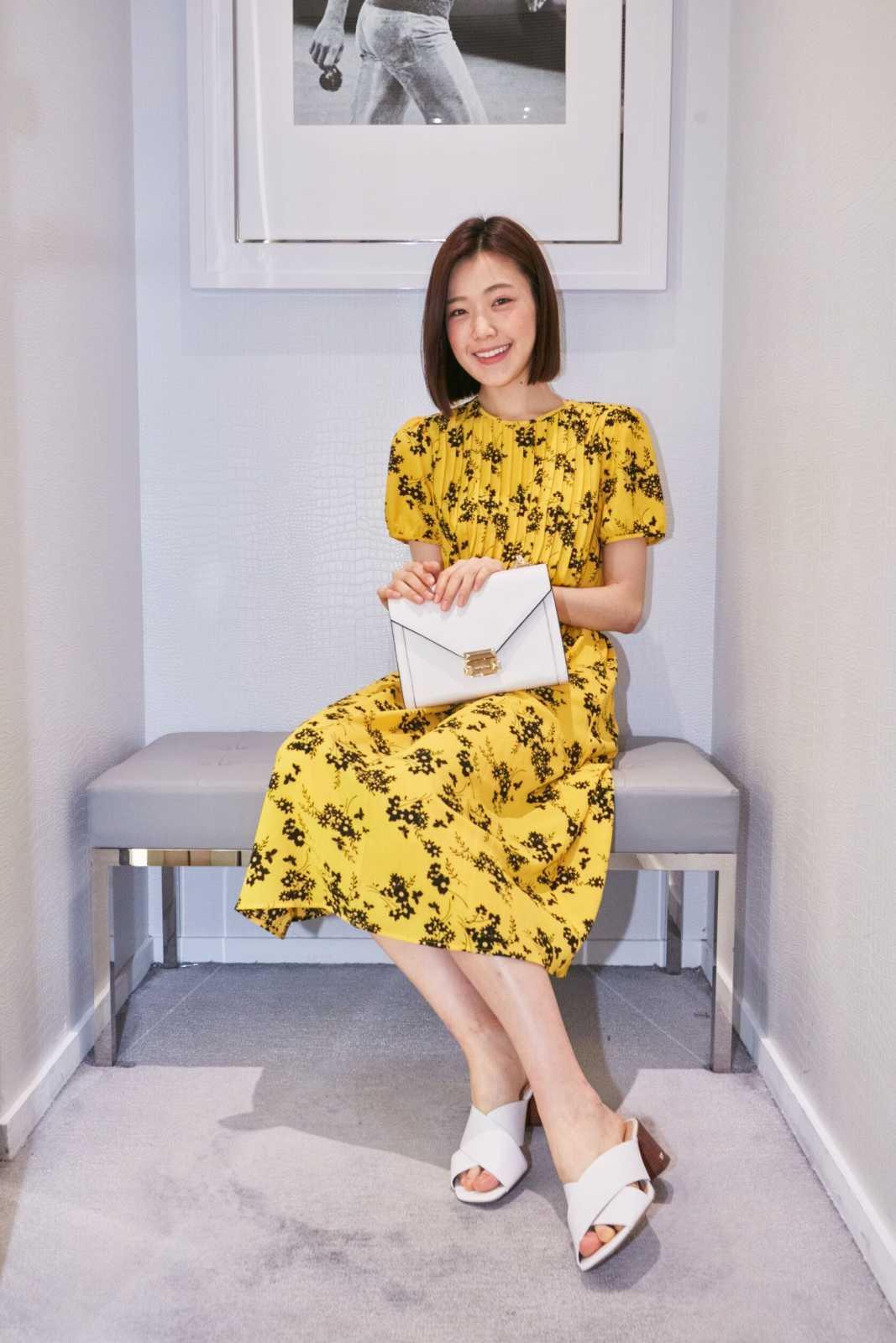 Michael Kors 2019春季新品鑑賞會 時尚運動系列 Model穿搭