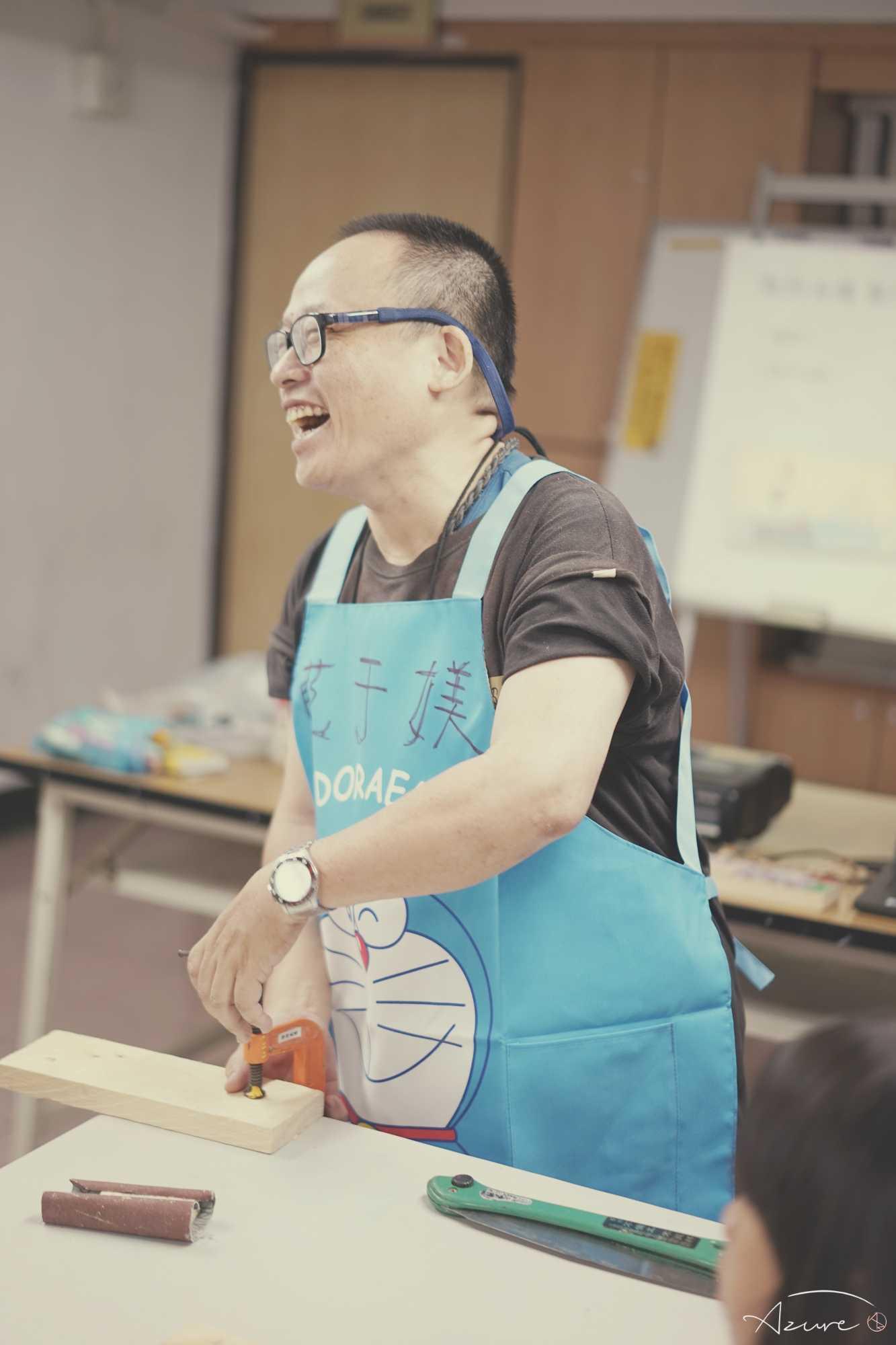 夢想城鄉 木工班 講師藍波